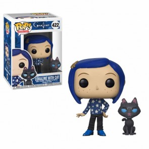 Coraline with Cat POP! Figur 9 cm