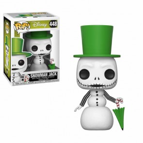 Nightmare before Christmas Snowman Jack POP! Figur 9 cm
