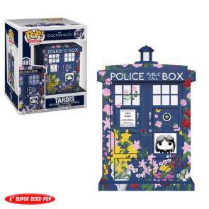 Doctor Who Clara's Memorial Tardis POP! Figur 15 cm