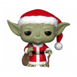 Star Wars Holiday Santa Yoda POP! Figur 9 cm