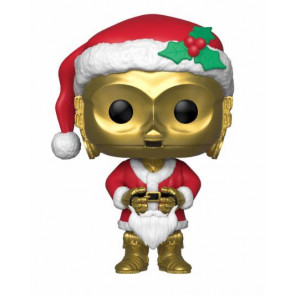 Star Wars Holiday Santa C-3PO POP! Figur 9 cm