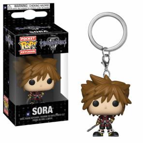 Kingdom Hearts 3 Pocket POP! Vinyl Schlüsselanhänger Sora 4 cm