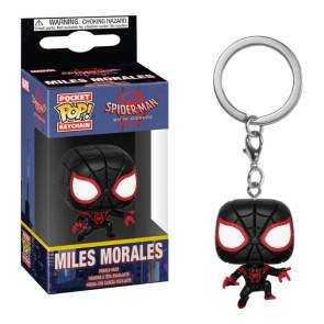 Spider-Man Animated Pocket POP! Vinyl Schlüsselanhänger Spider-Man Miles 4 cm