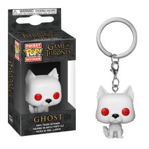 Game of Thrones Pocket POP! Vinyl Schlüsselanhänger Ghost 4 cm