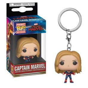 Captain Marvel Pocket POP! Vinyl Schlüsselanhänger Captain Marvel 4 cm