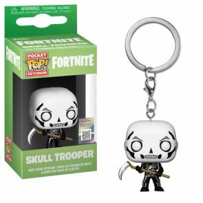Fortnite Pocket POP! Vinyl Schlüsselanhänger Skull Trooper 4 cm