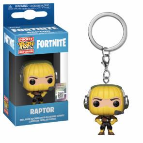 Fortnite Pocket POP! Vinyl Schlüsselanhänger Raptor 4 cm