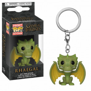 Game of Thrones Pocket POP! Vinyl Schlüsselanhänger Rhaegal 4 cm