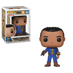 Fallout 76 Vault Dweller Male POP! Figur 9 cm