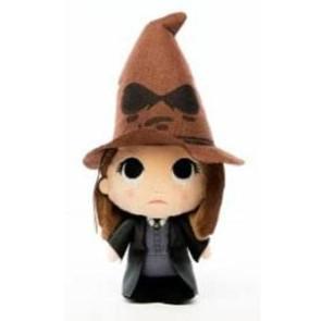 Harry Potter Super Cute Plüschfigur Hermine w/ Sorting Hat 18 cm