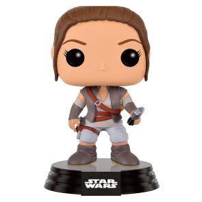 Star Wars VII Rey POP! Figur Final Scene Lightsaber Hilt 9 cm Limited