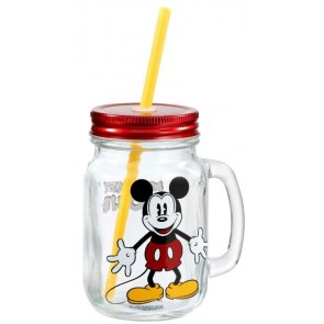Disney Mason Jar Glas Mickey