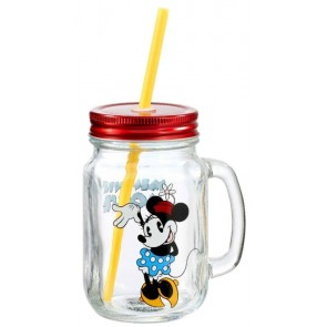 Disney Minnie Maus Mason Jar Glas