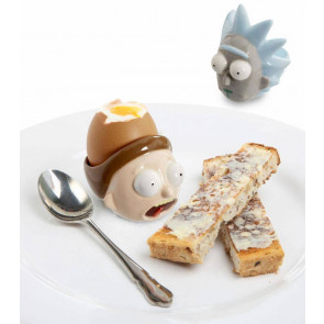 Rick & Morty Eierbecher Doppelpack Set