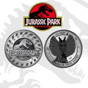 Jurassic Park Find Nedry Sammelmünze