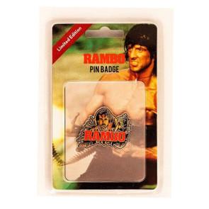 Rambo Ansteck-Pin Rambo