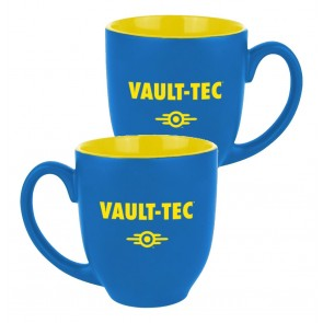 Fallout Tasse Vault-Tec Logo Blue/Yellow