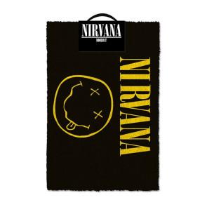Nirvana Fußmatte Smiley 40 x 60 cm