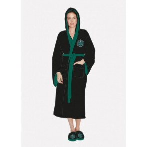 Harry Potter Girlie Bademantel Slytherin