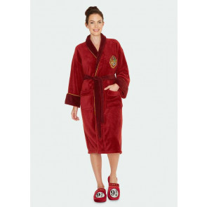 Harry Potter Girlie Fleece-Bademantel Hogwarts Express 9 3/4