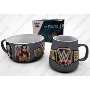 WWE Frühstücks-Set Superstars