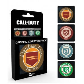 Call of Duty Untersetzer 4er Pack Perks