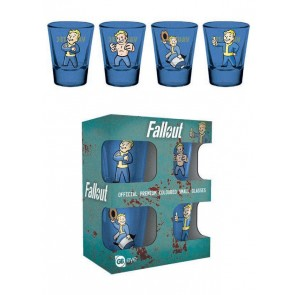 Fallout Premium Schnapsgläser 4er-Pack Vault Boy