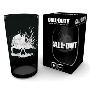 Call of Duty Premium Glas Skull