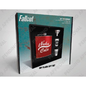 Fallout Flachmann Set Nuka Cola