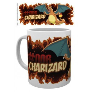 Pokemon Tasse Charizard Fire