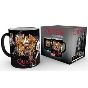 Queen Tasse mit Thermoeffekt Crest