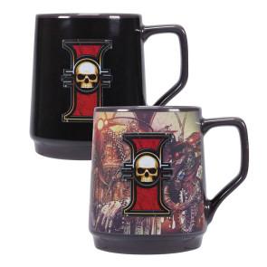 Warhammer 40k Tasse mit Thermoeffekt Inquisition
