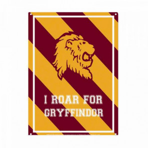 Harry Potter Blechschild Roar Gryffindor 21 x 15 cm