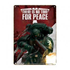 Warhammer Blechschild Propaganda 21 x 15 cm