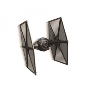 Star Wars VII First Order TIE Fighter Starship Elite Edition 1/18 Diecast Modell 15 cm