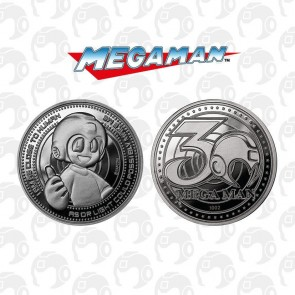 Mega Man Sammelmünze 30th Anniversary