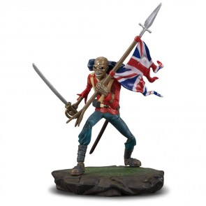 Iron Maiden Legacy of the Beast PVC Figur Trooper Eddie 10 cm