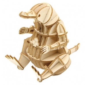 Phantastische Tierwesen IncrediBuilds 3D Modellbausatz Niffler *Englische Version*