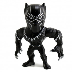 Captain America Civil War Metals Diecast Minifigur Black Panther 10 cm