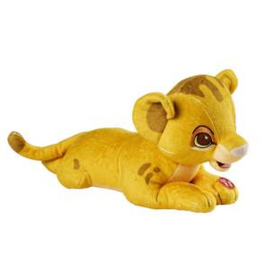 Der König der Löwen Simba Plüschfigur mit Leuchtfunktion 28 cm