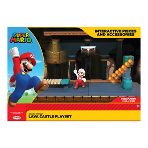 Lavaschloss Super Mario Spielset World of Nintendo
