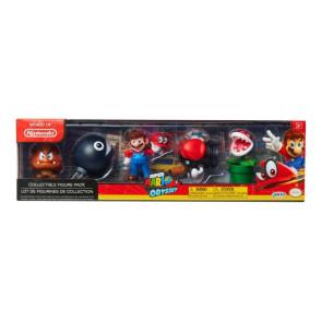 Super Mario Odyssey Theme 5er-Pack Minifiguren 6 cm