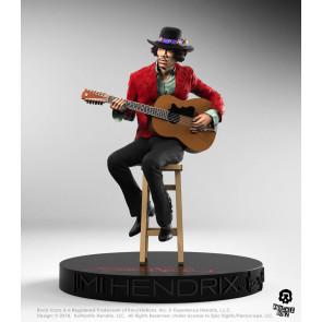 Jimi Hendrix Rock Iconz Statue 21 cm