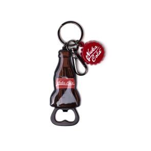 Fallout Schlüsselanhänger mit Flaschenöffner Nuka Cola Bottle