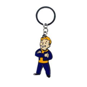 Fallout Metall Schlüsselanhänger Vault Boy