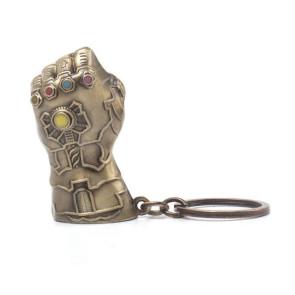 Avengers Infinity War Metall Schlüsselanhänger Thanos Fist 7 cm