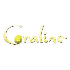 Coraline Phunny Plüschfigur mit Knopfaugen 18 cm