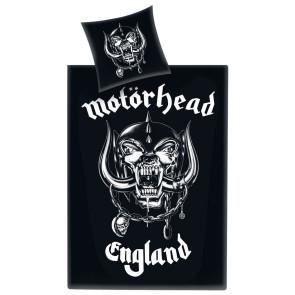 Motörhead Bettwäsche Logo England 135 x 200 cm / 80 x 80 cm