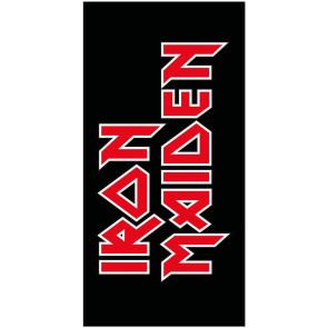 Iron Maiden Handtuch Logo 150 x 75 cm