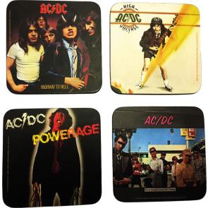 AC/DC Untersetzer Pack (4)